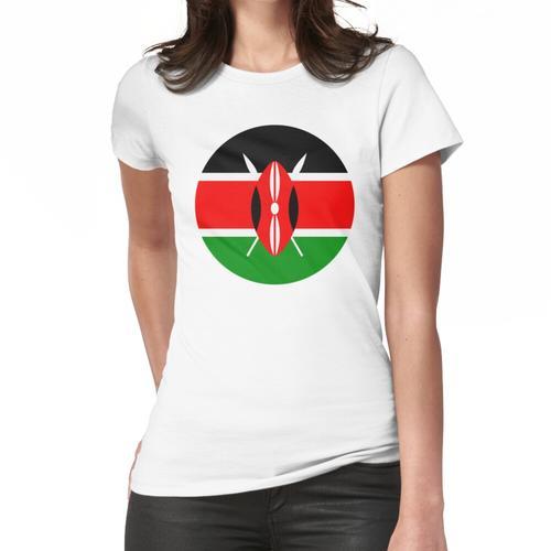 Kenia, Kenia Jamhuri vor Frauen T-Shirt