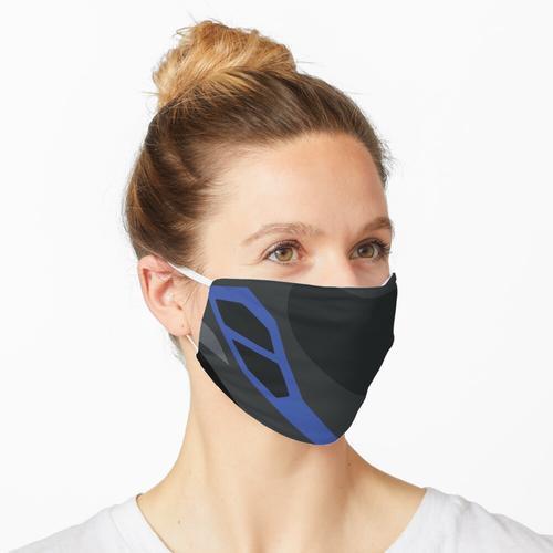 Motorradhelm Maske