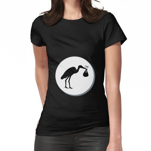 Babybauch, es ist ein ...? Frauen T-Shirt