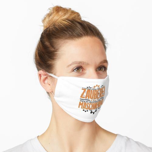 Maschinenbauer Techniker Ingenieur Maschinenbau Maske