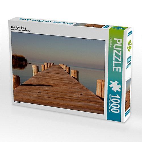 Sonniger Steg Foto-Puzzle Bild von photoplace Puzzle