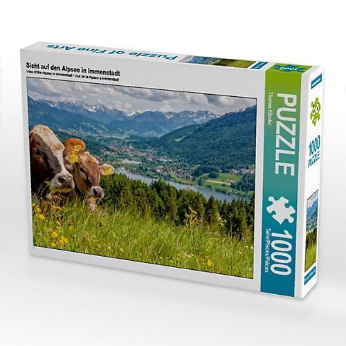 Sicht auf den Alpsee in Immenstadt Foto-Puzzle Bild von TomKli Puzzle