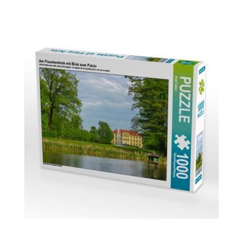 Am Flaschenteich mit Blick zum Palais Foto-Puzzle Bild von wkbilder Puzzle