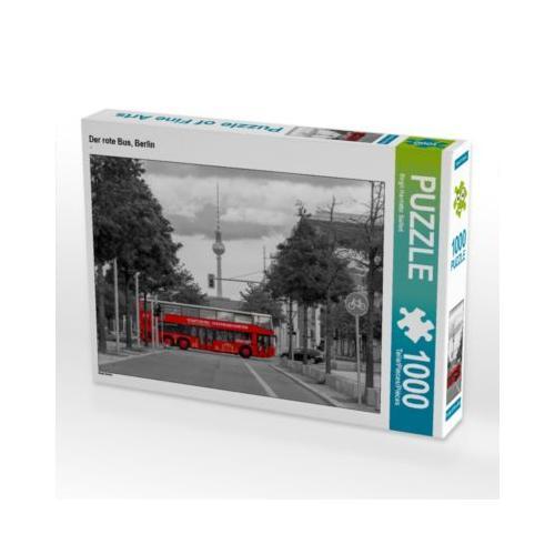 Der rote Bus, Berlin Foto-Puzzle Bild von wkbilder Puzzle