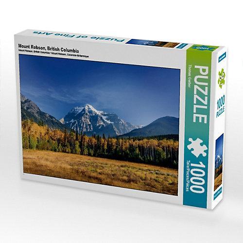 Mount Robson, British Columbia Foto-Puzzle Bild von Thomas Gerber Puzzle