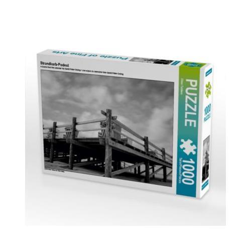 Strandkorb-Podest Foto-Puzzle Bild von Dimo Tabken Puzzle
