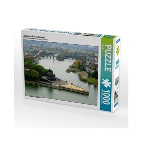 Deutsches Eck in Koblenz Foto-Puzzle Bild von Thomas Polske Puzzle