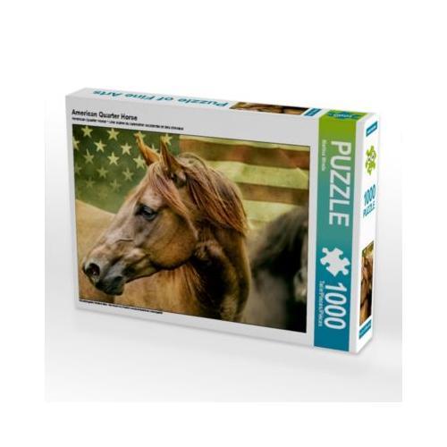 American Quarter Horse Foto-Puzzle Bild von Martina Wrede Puzzle