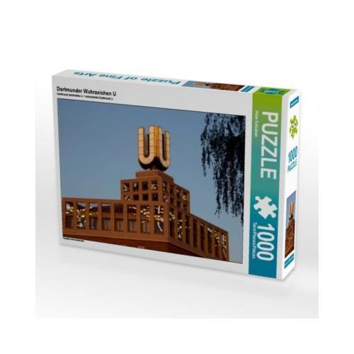 Dortmunder Wahrzeichen U Foto-Puzzle Bild von Peter Schickert Puzzle
