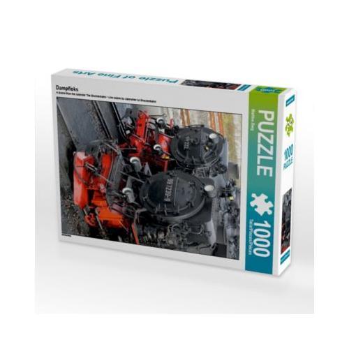 Dampfloks Foto-Puzzle Bild von Martina Berg Puzzle