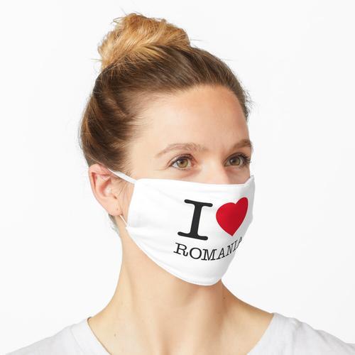 I LOVE ROMANIA Maske