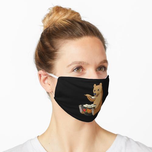 Russischer Bär Pelmeni Schüssel Maske