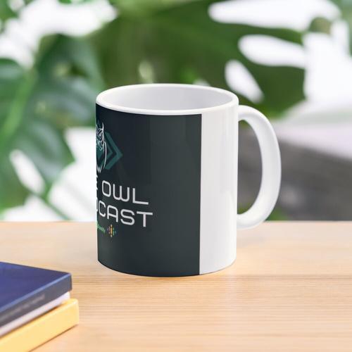 Der Eulen-Podcast Tasse