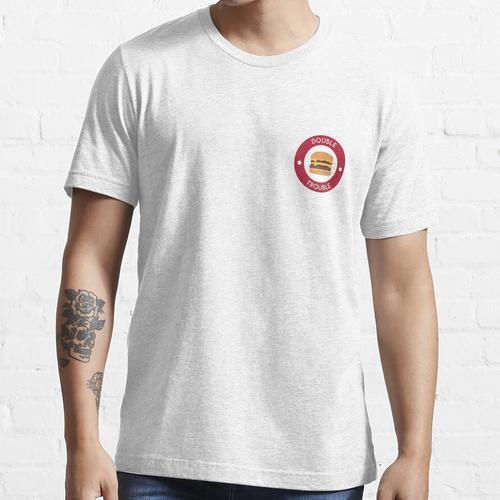 Doppelter doppelter Burger Essential T-Shirt