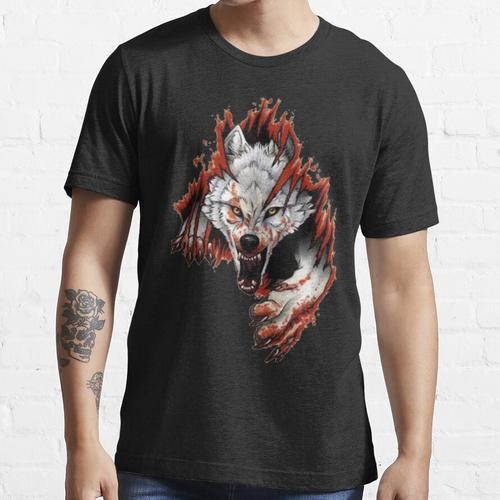 WÜTENDES WOLFBLUT Essential T-Shirt