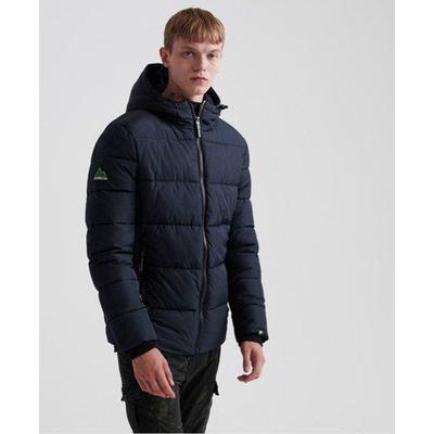 Sports Puffer - Blue - Superdry Jackets