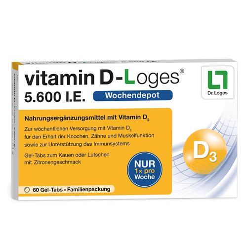Dr. Loges + Co. Vitamin D Vitamine 78.0g