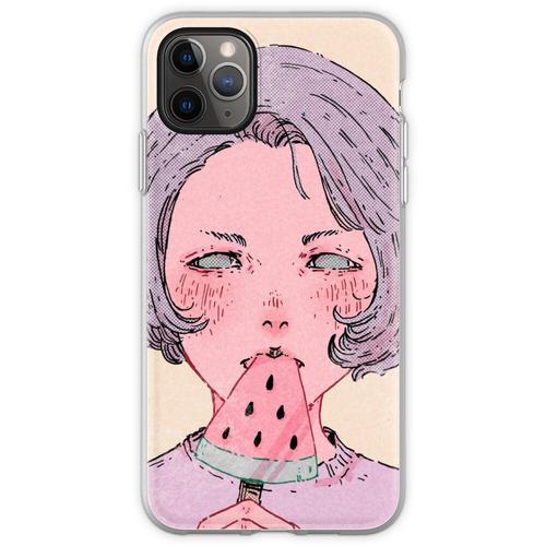Wassermeloneneis Flexible Hülle für iPhone 11 Pro Max