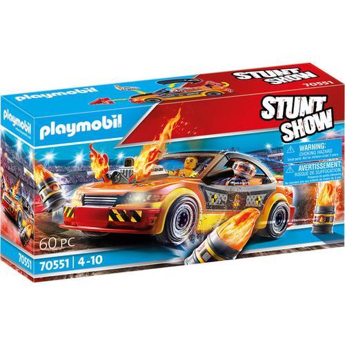 PLAYMOBIL® Stuntshow 70551 Stuntshow Crashcar, bunt
