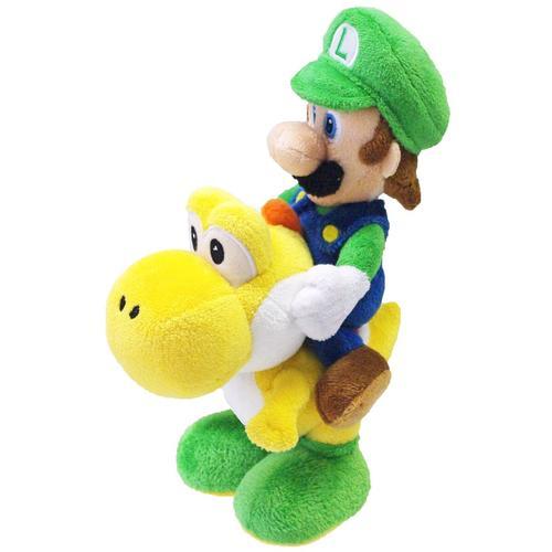 Super Mario Luigi & Yoshi Plüschfigur - multicolor - Offizieller & Lizenzierter Fanartikel
