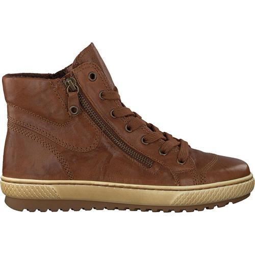 Gabor Cognacfarbene Sneaker 754