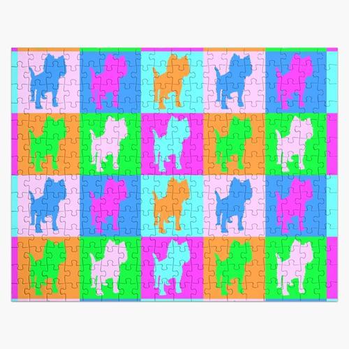 Welpen Art - Terrier Puzzle