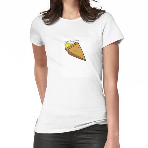 Butter Pekannuss Rican Frauen T-Shirt