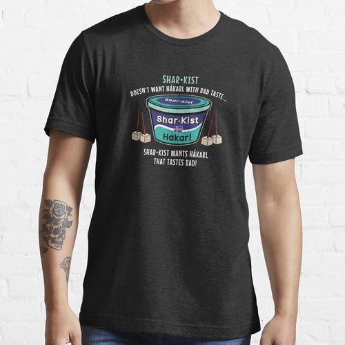 Gegorenes Haiprodukt von Hakarl Island Essential T-Shirt
