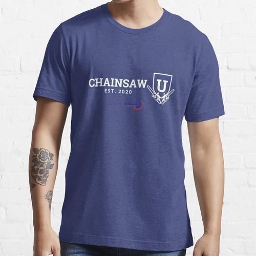 Kettensäge Kettensäge U. Essential T-Shirt