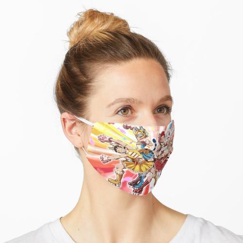 Wilder wilder Bakusquad Maske