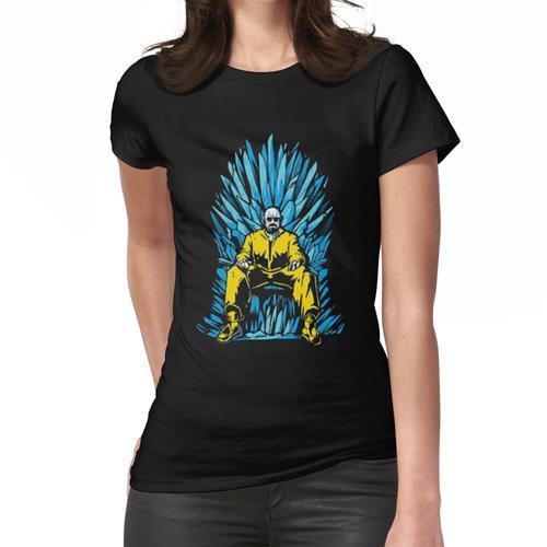 Walter White auf dem Stuhl von GOT aus Meth (Breaking Bad) Frauen T-Shirt