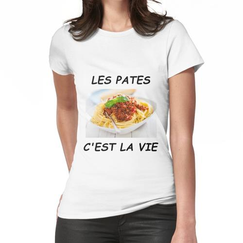 TEIGWAREN IST LEBEN Frauen T-Shirt