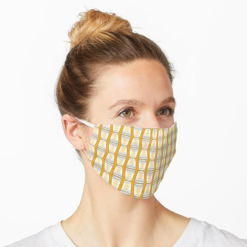 Flip Cup Plastikbecher Muster in Gold Maske
