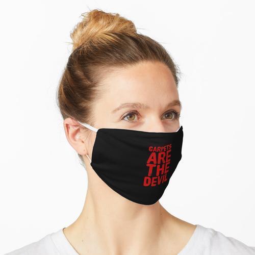 Geschenk für Allergiker - Teppiche sind der Teufel - Allergie Doktor Geburtstag Maske
