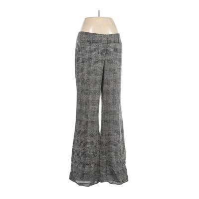 7th Avenue Design Studio New York & Company Dress Pants - Mid/Reg Rise: Gray Bottoms - Size 6
