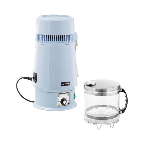 Uniprodo Destilliergerät - Wasser - 4 L - Temperatur einstellbar - Glaskanne UNI-WD-250