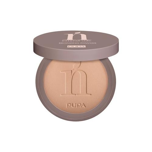 PUPA Milano Teint Bronzer Natural Side Bronzing Powder Nr. 001 Light Bronze 8 g
