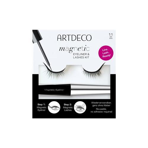 ARTDECO Geschenksets Für Sie Magnetic Eyeliner & Lashes Set Magnetic Liquid Eyeliner + Magnetic Lashes Nr. 32 Gala Dress 1 Stk.