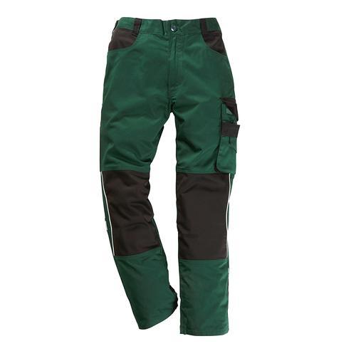 Arbeitshose Pull, mit Knieverstärkung grün Herren Arbeitshosen Arbeits- Berufsbekleidung