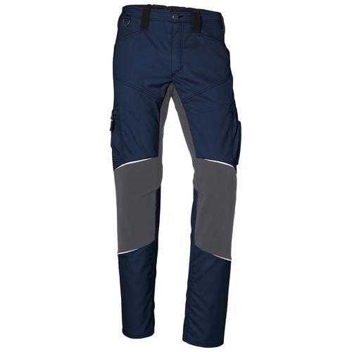 Kübler Arbeitshose ActiviQ Stretch, dehnbarer Bund blau Herren Arbeitshosen Arbeits- Berufsbekleidung