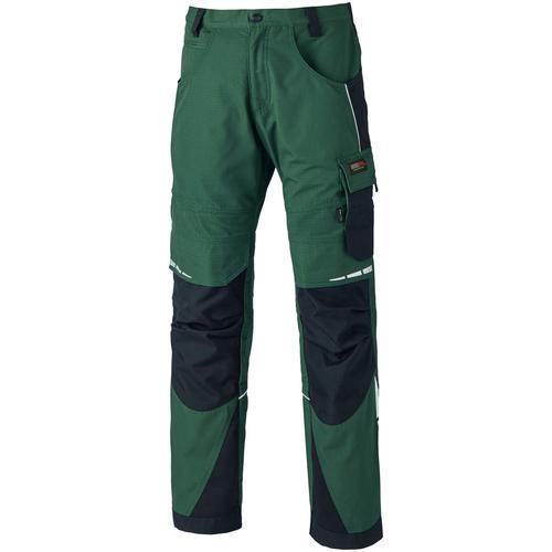 Dickies Arbeitshose Pro I, mit reflektierenden Details grün Herren Arbeitshosen Arbeits- Berufsbekleidung
