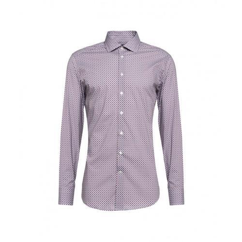 Etro Herren Hemd mit geometrischem Druck Weiß