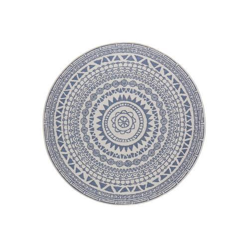 Teppich »Coron«, bougari, rund, Höhe 5 mm, Wendeteppich, In- und Outdoor geeignet, Wohnzimmer