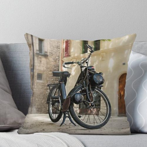 Fahrrad mit Hilfsmotor Solex Kissen
