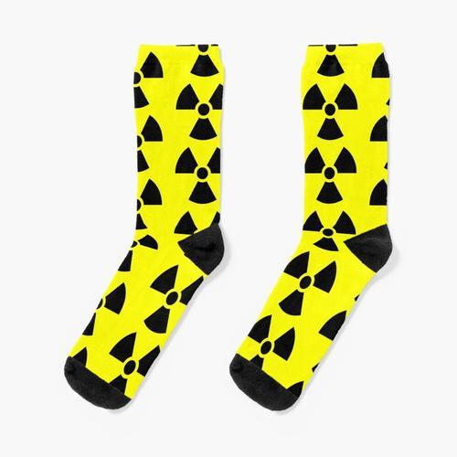 Strahlungssymbol Socken