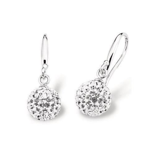 Amor Paar Ohrhaken »9696390«, mit Kristallglassteinen