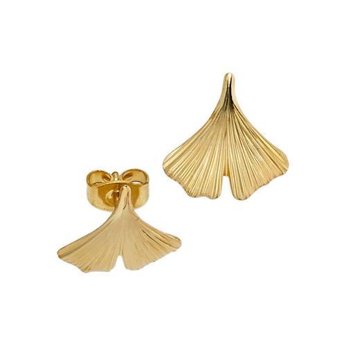 JOBO Paar Ohrstecker »Ginko«, 375 Gold