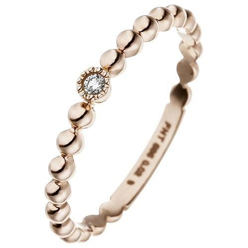 JOBO Diamantring, 585 Roségold mit Diamant