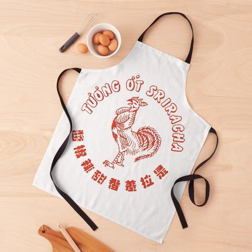 Sriracha Sauce Tuong Ot Sriracha Schürze
