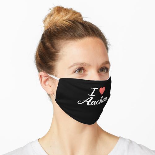 i love aachen Maske
